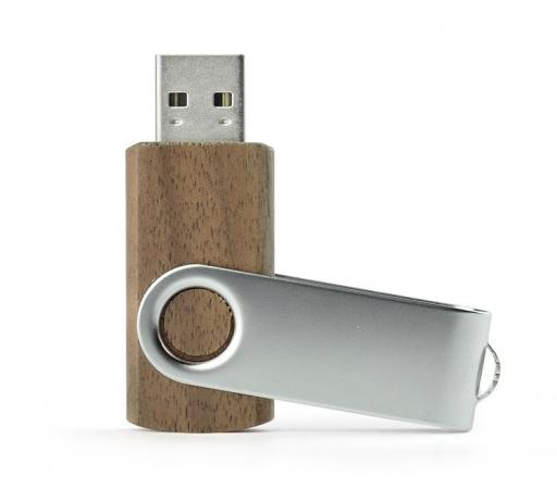 Pamięć USB Twister 8GB drewno ciemne – 44014 – GRAWER GRATIS