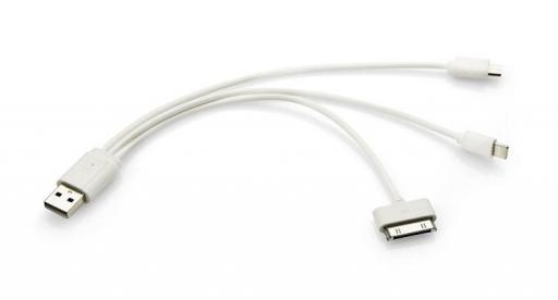 Kabel USB 3 w 1 – 45006