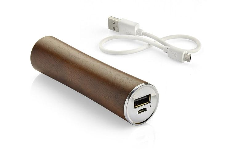 Power Bank WOODWORK ciemny 2200mAh – 45055 – GRAWER GRATIS